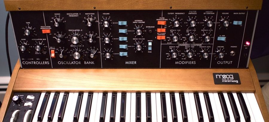 Beste Moog MiniMoog Model D Review