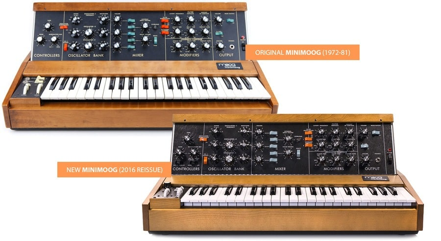 Goedkope Moog MiniMoog Model D Review