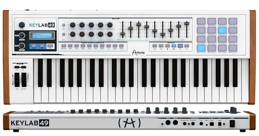Arturia Keylab 49 Essential USB MIDI keyboard review