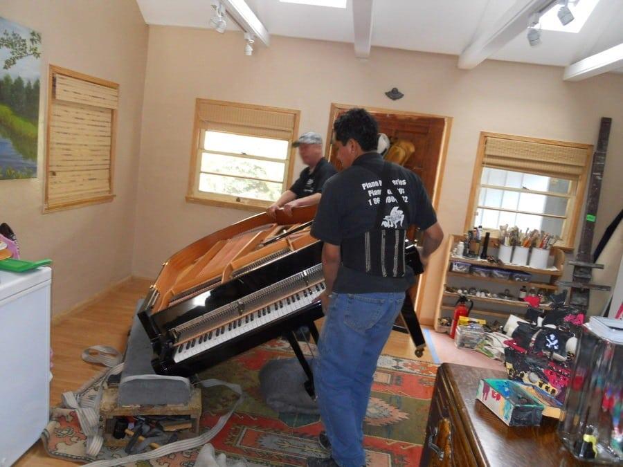 Vleugel Piano Vervoeren