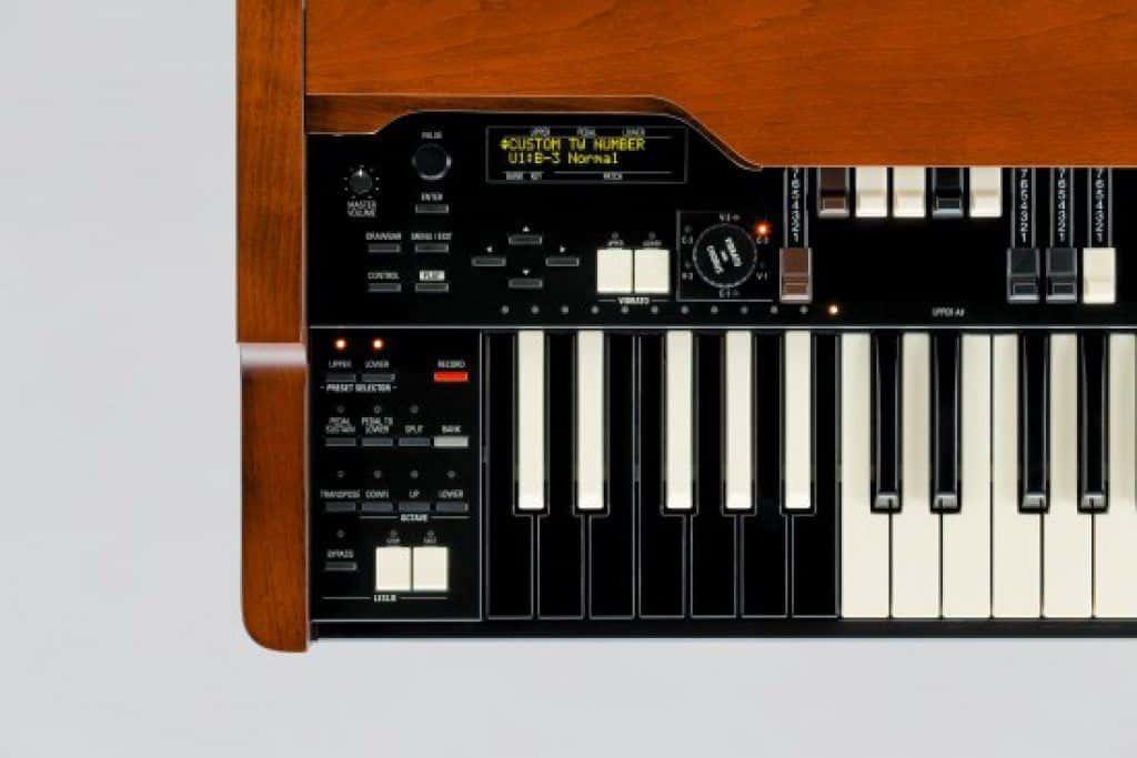 orgel piano Hammond XK5 review