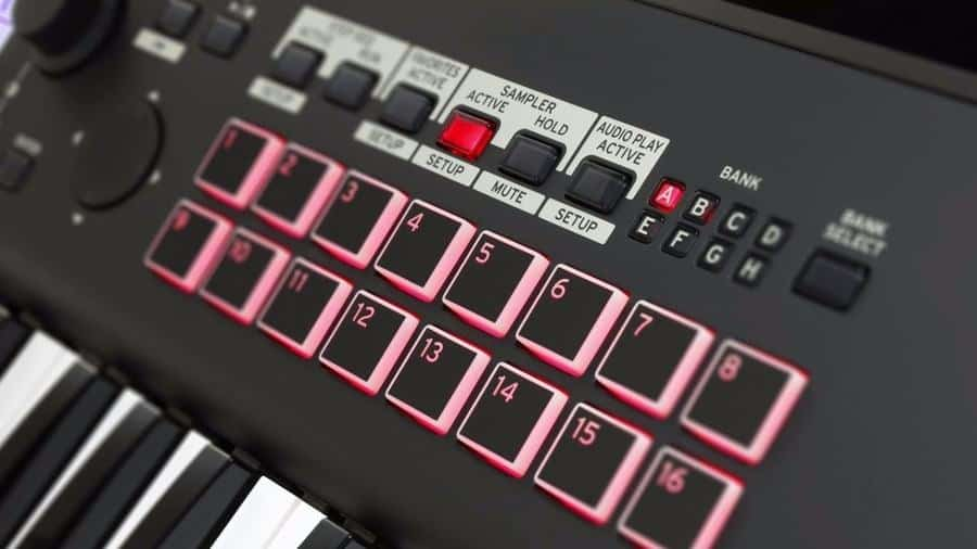 Korg Kross 2 Review pads