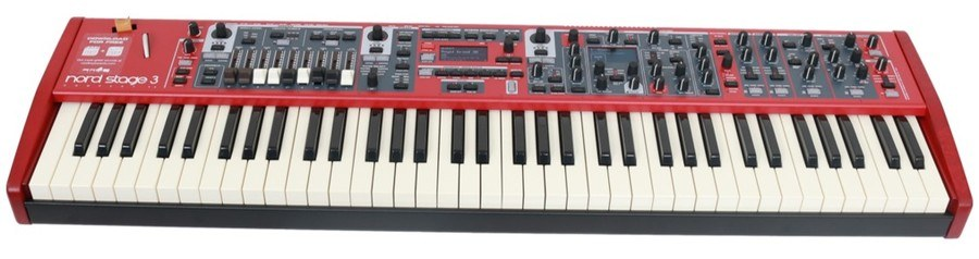 nord stage 3 review piano keyboard