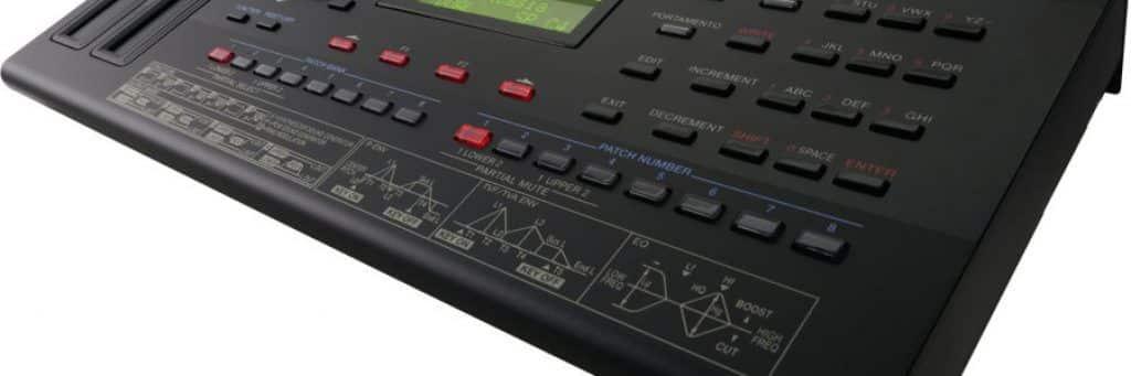 Roland D-05 functionaliteiten
