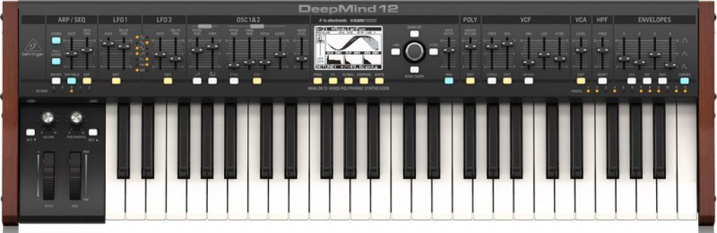 Synthesizer Behringer DeepMind 12 review