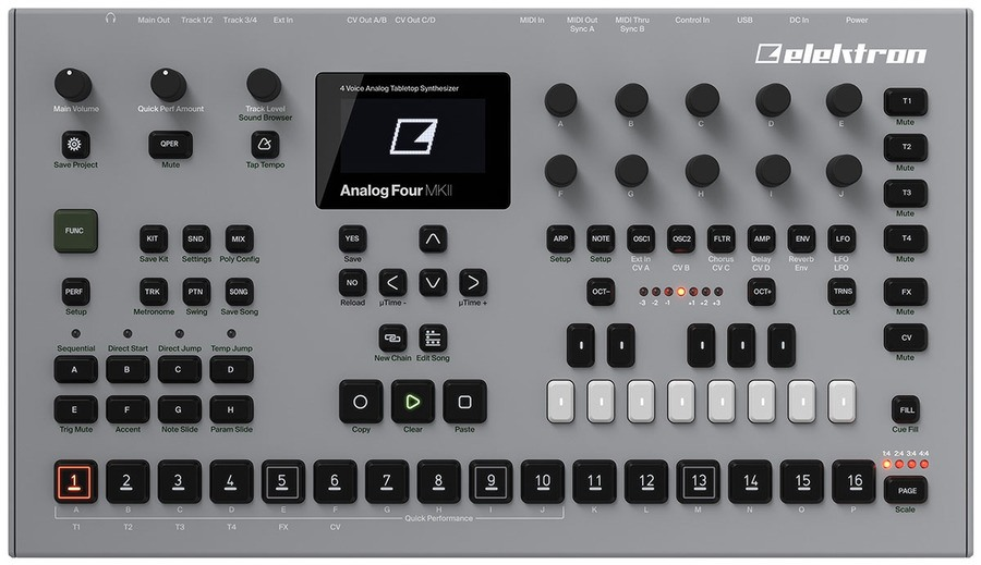 Goedkope Elektron Analog Four MKII Review