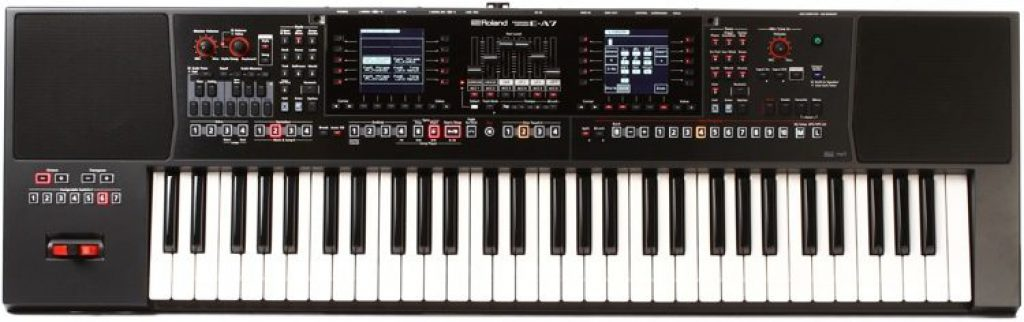 keyboard Roland E-A7 review