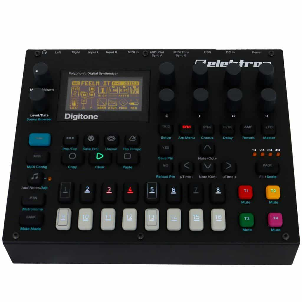 synthesizer kopen elektron digitone review