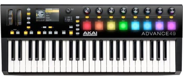 AKAI Advance 49 USB/MIDI-keyboard review
