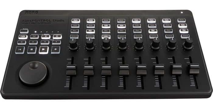 Korg nanoKontrol Studio review USB Bluetooth MIDI controller