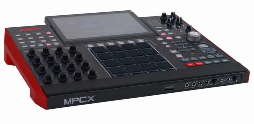 akai mpc x review muziek productie console