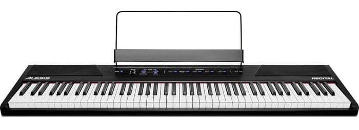 alesis recital review digitale piano