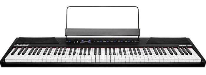 alesis recital review digitale piano