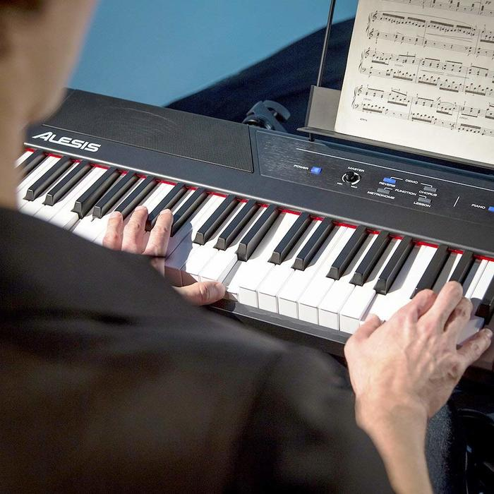 digitale piano alesis recital review keyboard