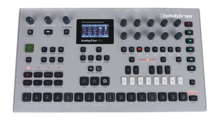 elektron analog four mkii review synthesizer kopen