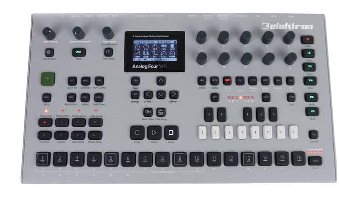 elektron analog four mkii review synthesizer kopen