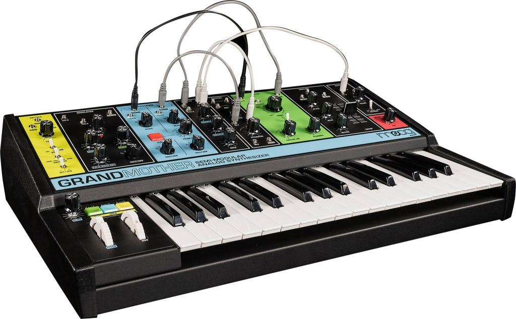 moog grandmother review beste digitale piano synthesizer