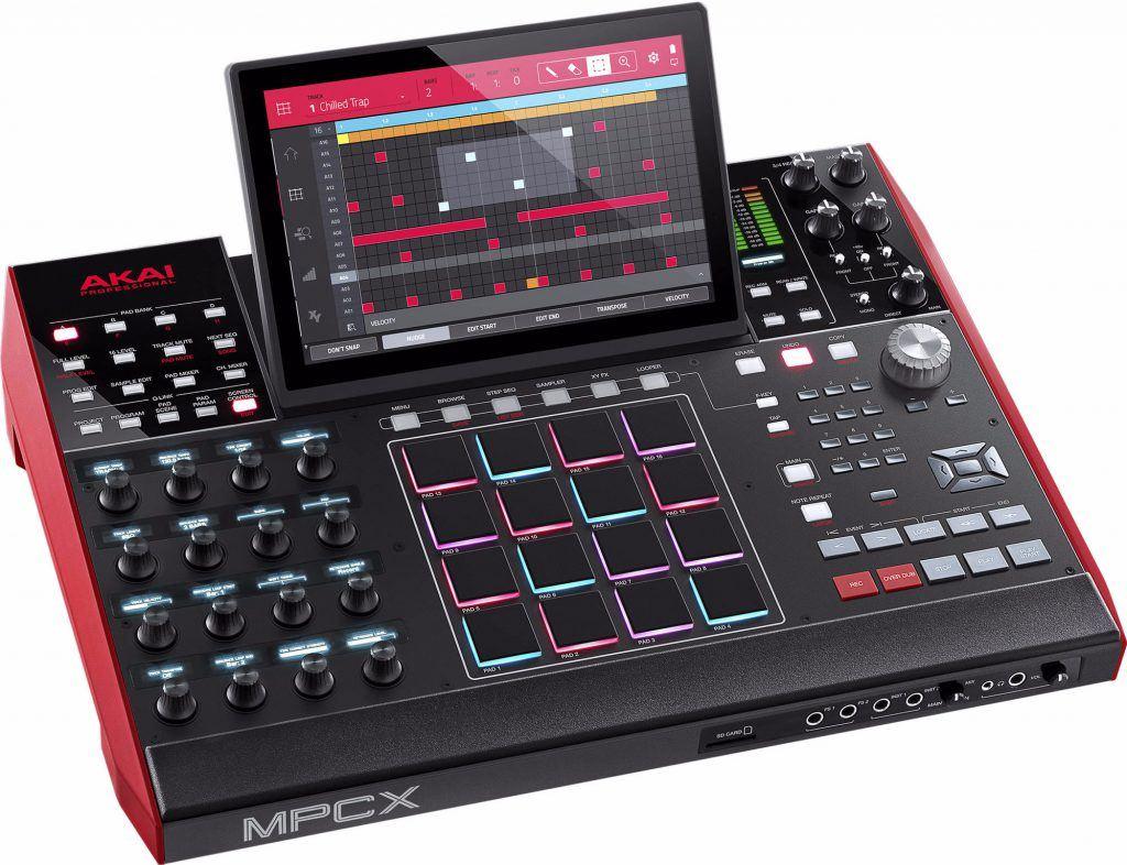 mpc kopen akai mpc x review muziek productie console