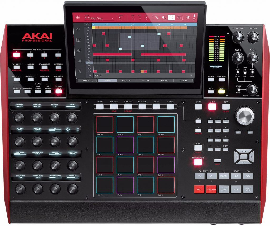 muziek productie console mpc akai mpc x review