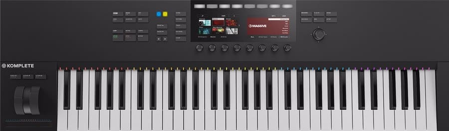 native instruments komplete kontrol s61 mk2 review