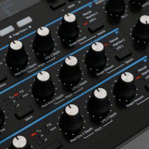 novation synthesizer novation peak review