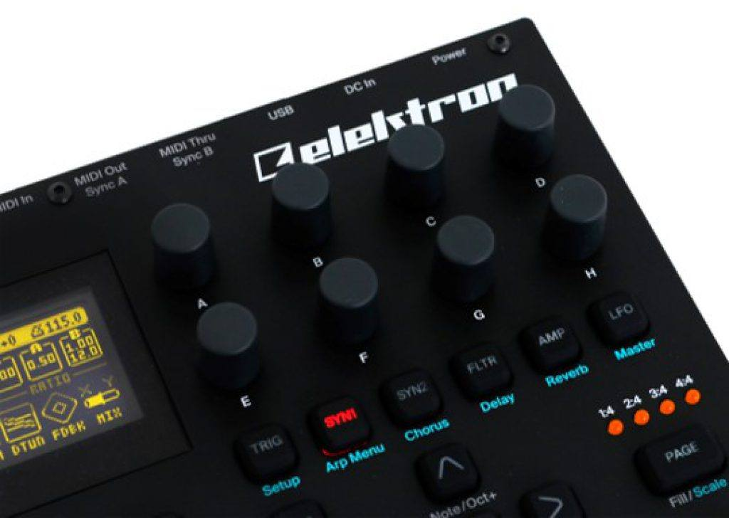 synthesizer elektron digitone review fm synthesizer kopen