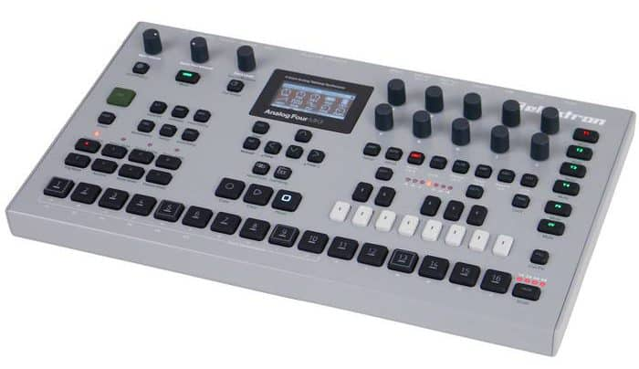 synthesizer kopen elektron analog four mkii review 4-stemmige analoge synthesizer
