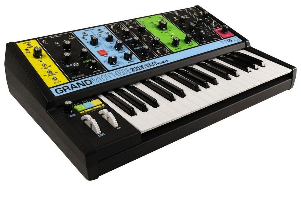 synthesizer moog grandmother review beste digitale piano