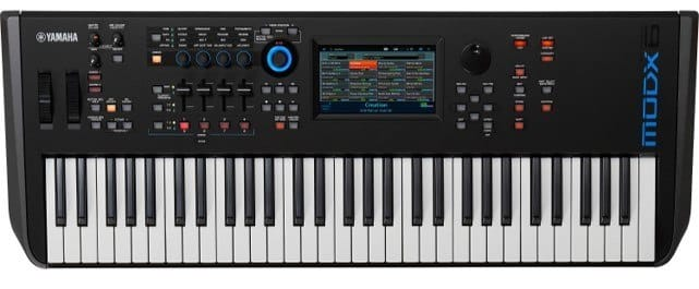yamaha modx6 review synthesizer kopen
