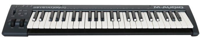 beste midi controller M-Audio Keystation 49 II USB MIDI keyboard