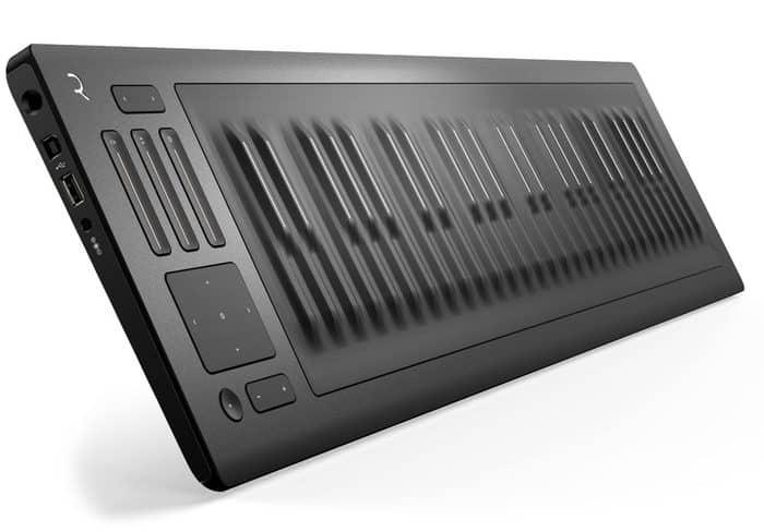 Roli Seaboard Rise 49 review USB keyboard
