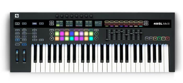 beste digitale piano Novation 49SL MK3 USB keyboard