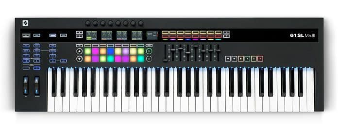 beste digitale piano Novation 61SL MK3 USB MIDI keyboard