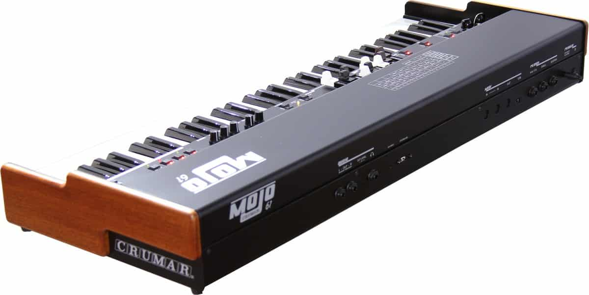 Crumar MOJO 61 review drawbar keyboard