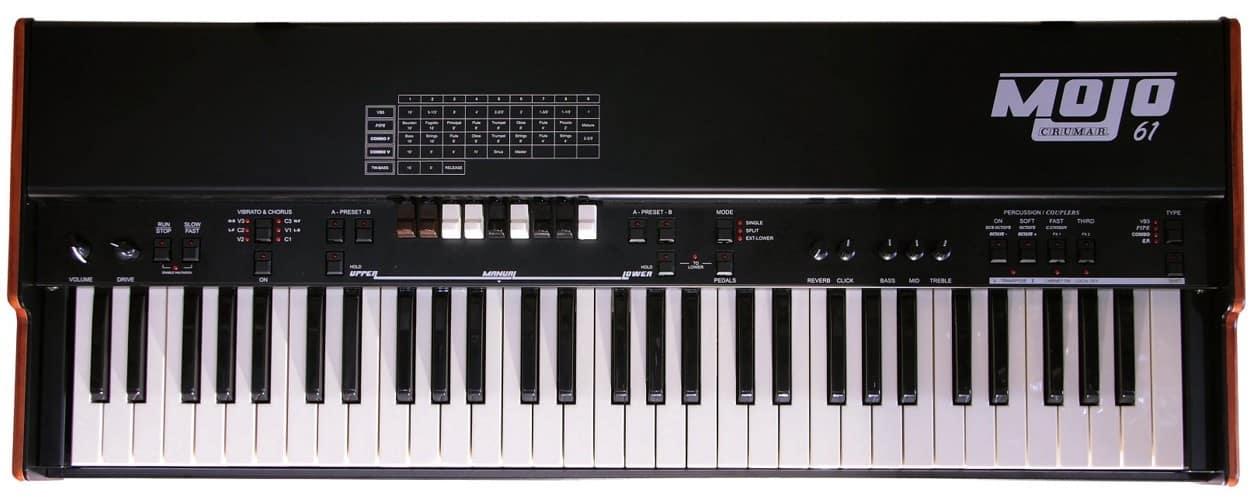 Crumar MOJO 61 Review digitaal orgel
