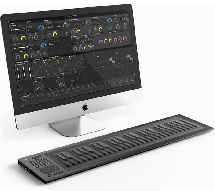 keyboard kopen Roli Seaboard Rise 49 review USB keyboard