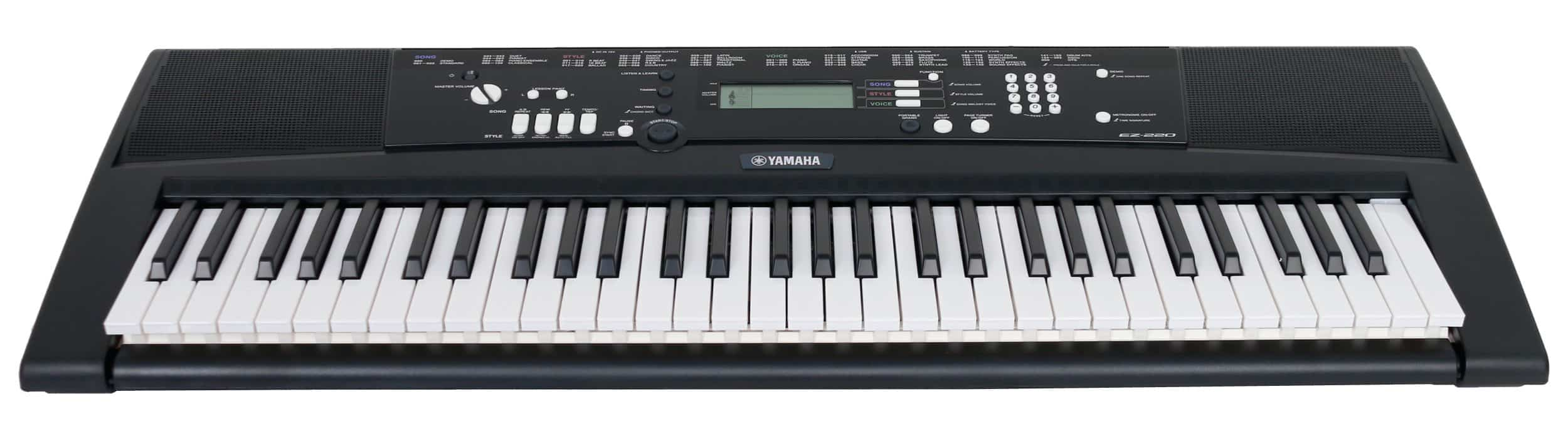 yamaha ez-220 review keyboard