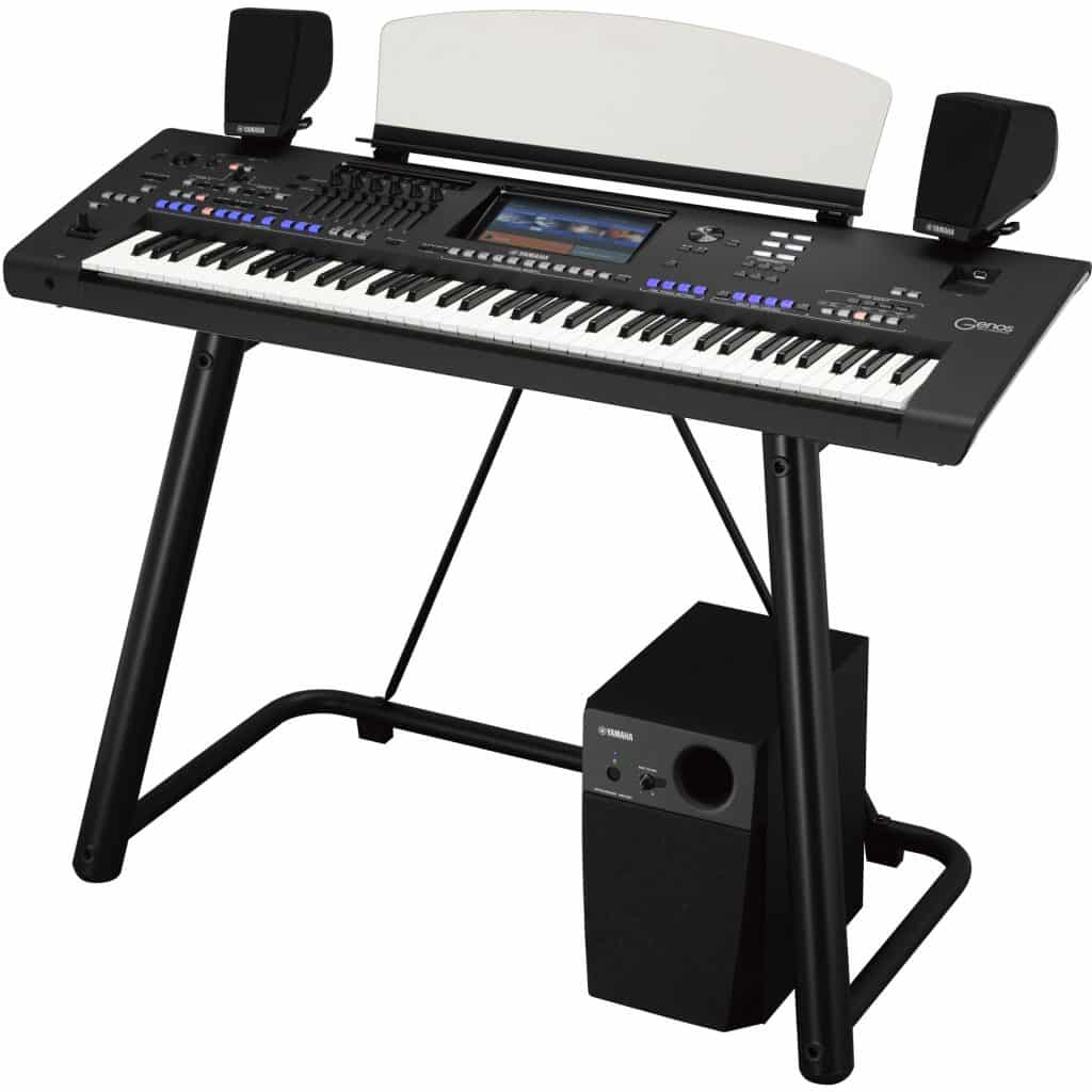 yamaha genos review keyboard workstation kopen