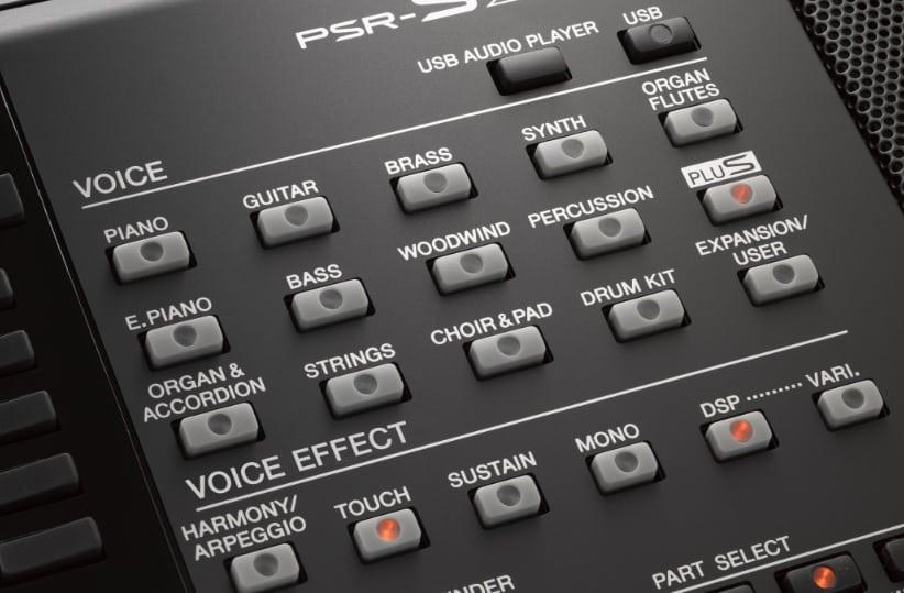 Yamaha PSR-S975 review workstation keyboard