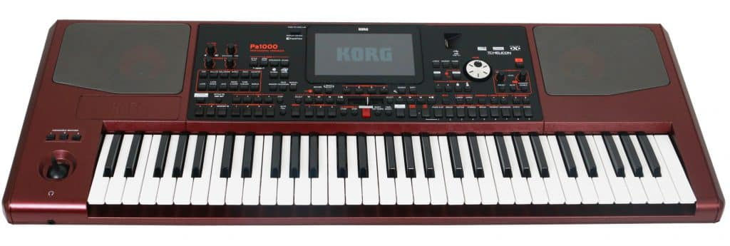 beste keyboard korg pa 1000 review
