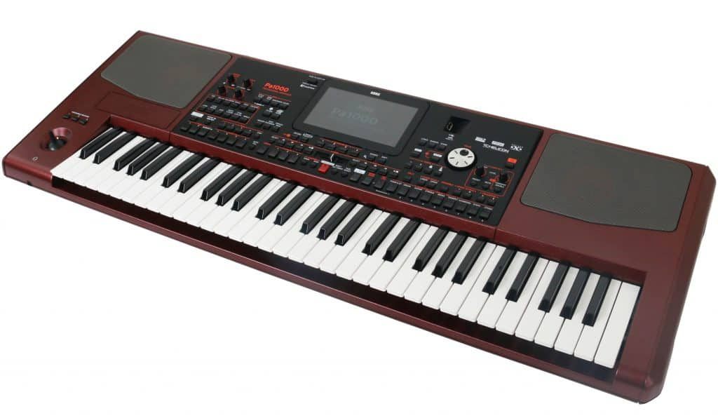 keyboard korg pa 1000 review