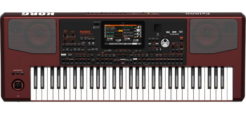 korg pa 1000 review