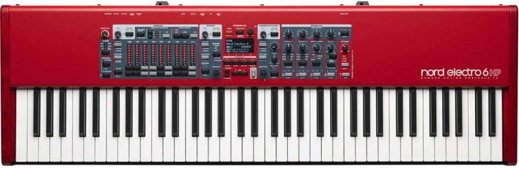 nord electro 6 review digitale piano
