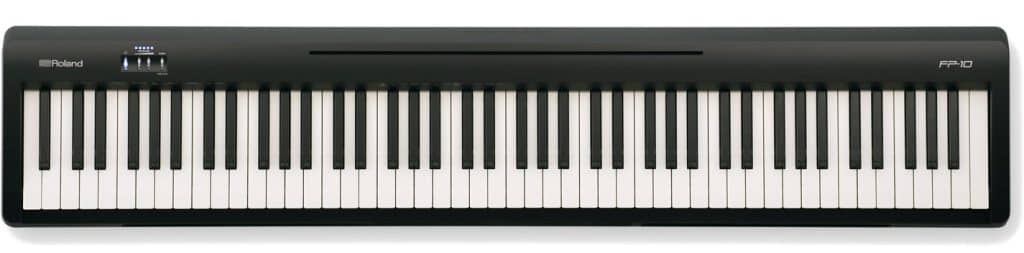 roland fp-10 review digitale piano voor beginners