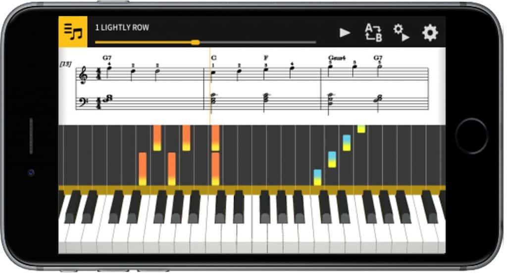 Chordana Play app casio ap-470 review