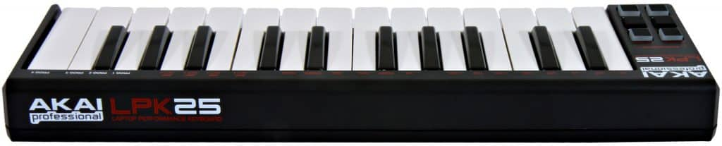 akai lpk25 review midi keyboard voor beginners