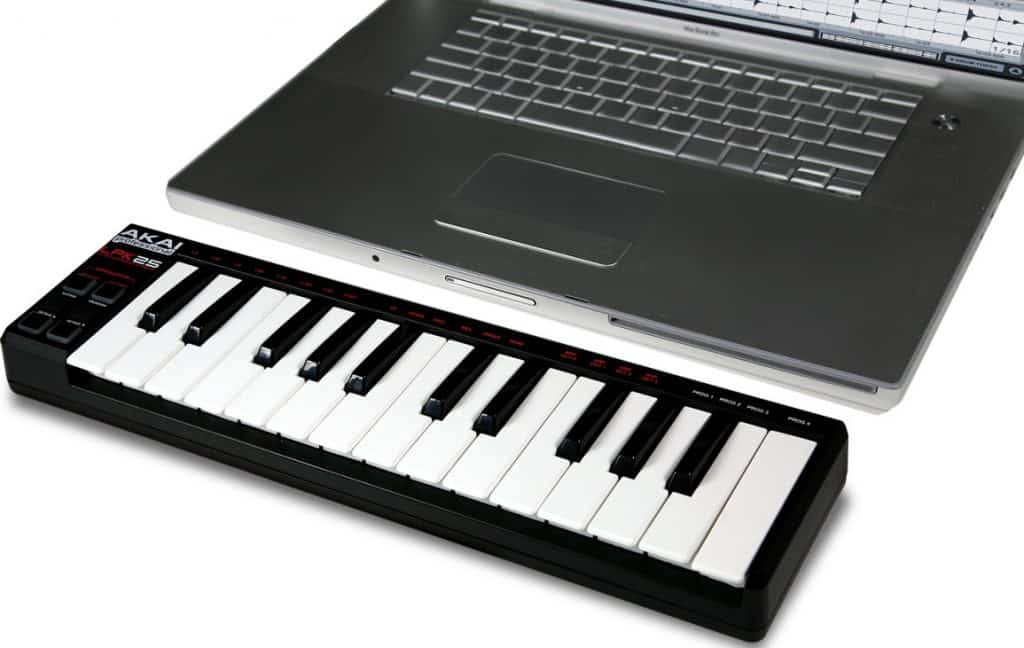 midi keyboard voor beginners akai lpk25 review