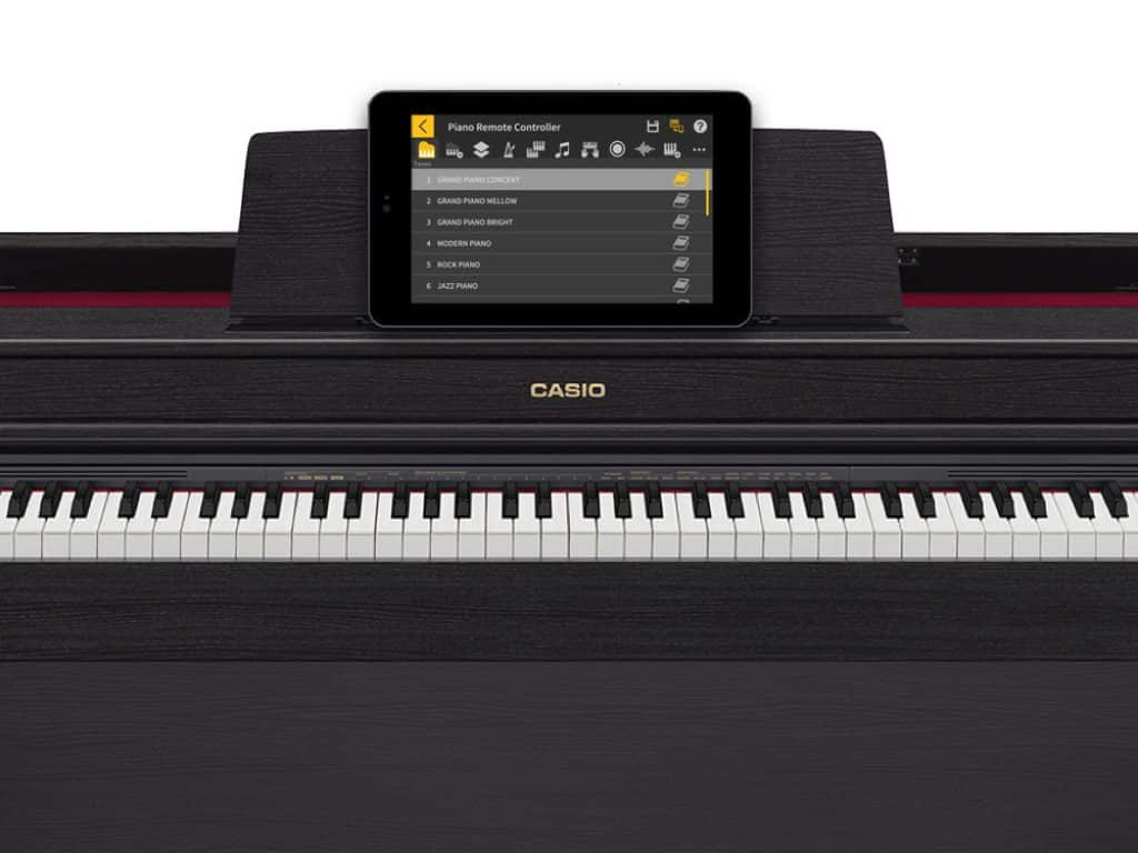 smart connect casio ap-470 digitale piano review