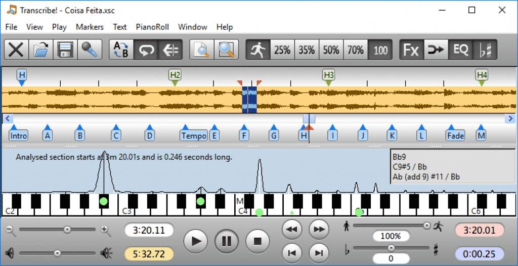 transcriptiesoftware digitale piano
