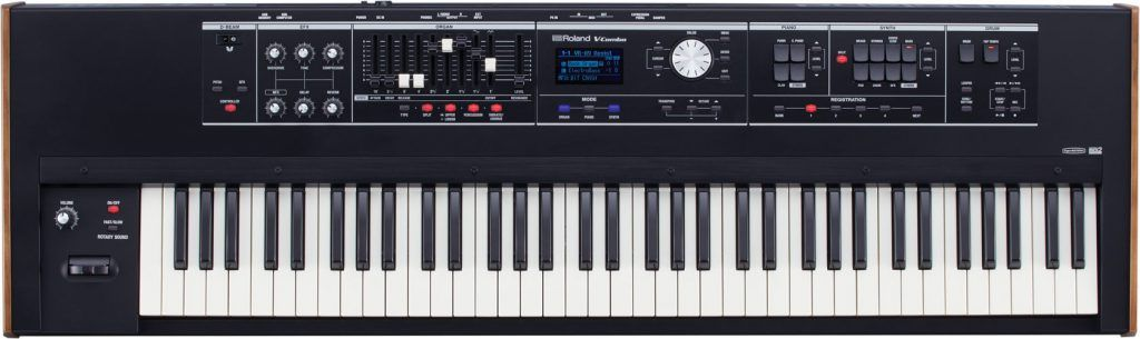 live performance keyboard roland vr-730 review